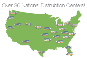 Guernsey Office Supply National Distribution Centers